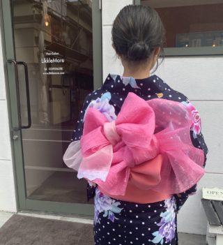女の子の浴衣姿は可愛い(♥ᴑ♥)