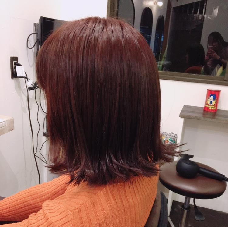 オレンジ+チェリー=♡